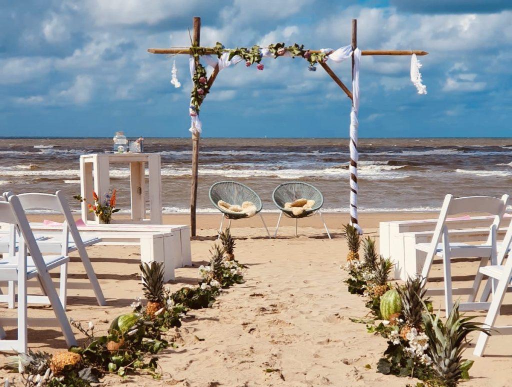 Trouwen op het strand | Bodhi Beach zandvoort